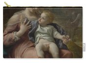 The Madonna Of The Basket Carry-all Pouch