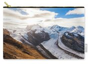The Monte Rosa Massif In Switzerland Carry-all Pouch