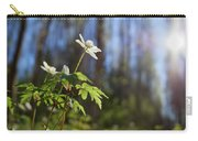 The Morning. Wood Anemone Carry-all Pouch