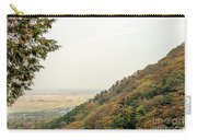 The Mountain View At The Yoro Waterfall In Gifu, Japan, November Carry-all Pouch