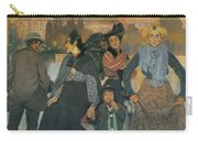 The Origins Of The Modern In Basque Carry-all Pouch