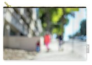 The People Walking On The Street During Day In The City Of Los A Carry-all Pouch
