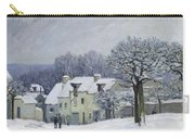 The Place Du Chenil At Marly Le Roi Carry-all Pouch by Alfred Sisley