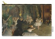 The Rehearsal Of The Ballet On Stage Carry-all Pouch