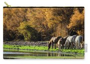 The Salt River Wild Horses  Carry-all Pouch