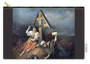The Scene At The Grave H 1859 58h69 Am Gtg Vasily Perov Carry-all Pouch