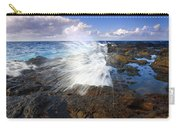 The Sea Erupts Carry-all Pouch by Mike  Dawson