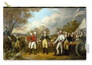 The Surrender Of General Burgoyne Carry-all Pouch by War Is Hell Store