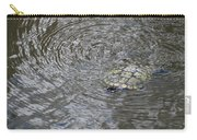 The Swimming Turtle Carry-all Pouch