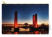 The Tower Bridge At Sunset Carry-all Pouch