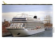 The Viking Star Cruise Liner In Venice Italy Carry-all Pouch