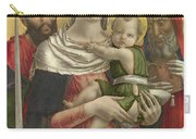 The Virgin And Child With Saints Paul And Jerome Carry-all Pouch