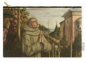 The Vision Of The Blessed Gabriele Carry-all Pouch