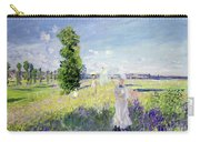 The Walk Carry-all Pouch by Claude Monet