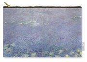 The Water Lilies, Morning Carry-all Pouch