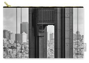 The World Famous Golden Gate Bridge In San Francisco, California Carry-all Pouch