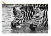 Thirsty Zebras Carry-all Pouch