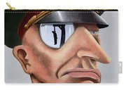 This Is The Enemy - Ww2 Poster Carry-all Pouch
