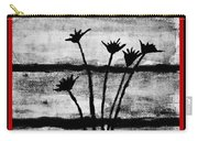 Thistles By The Barn Carry-all Pouch