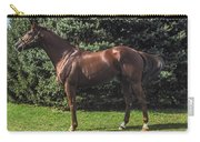Thoroughbred Stallion Carry-all Pouch