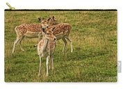 Three Fallow Deer Carry-all Pouch