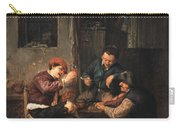 Three Peasants At An Inn Carry-all Pouch