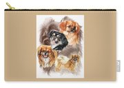 Tibetan Spaniel W/ghost Carry-all Pouch