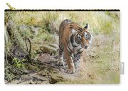 Tiger In The Woods Carry-all Pouch