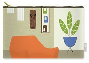 Tikis On The Wall Carry-all Pouch