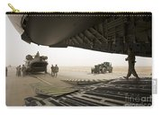 Tikrit, Iraq - A Ch-47 Chinook Carry-all Pouch