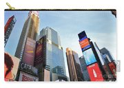 Times Square New York City Carry-all Pouch