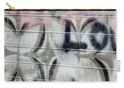 Tiny Pink Butterfly Graffiti Carry-all Pouch