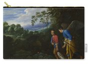Tobias And The Archangel Raphael Carry-all Pouch