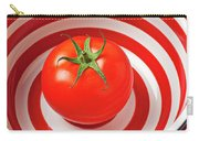Tomato In Red And White Bowl Carry-all Pouch