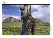 Tongariki Moai On Easter Island Carry-all Pouch