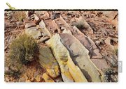Tracks Of Color In Valley Of Fire Carry-all Pouch