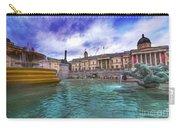 Trafalgar Square Fountain London 5 Art B Carry-all Pouch