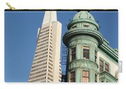 Transamerica Pyramid Building Carry-all Pouch