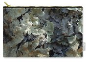Tree Bark With Lichen Carry-all Pouch