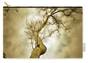 Tree Top In The Clouds Carry-all Pouch