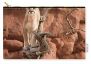 Treed Mountain Lion Carry-all Pouch
