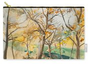Trees In The Bois De Boulogne Carry-all Pouch
