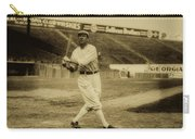 Tris Speaker With Boston Red Sox 1912 Carry-all Pouch