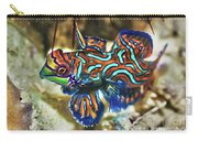 Tropical Fish Mandarinfish Carry-all Pouch