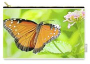 Tropical Queen Butterfly Framing Image Carry-all Pouch