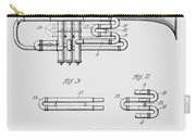 Trumpet Patent From 1919 Carry-all Pouch