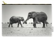 Trunk Pumping Elephants Carry-all Pouch