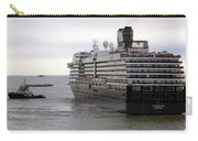 Tugboat Assisting Big Cruise Liner In Venice Italy Carry-all Pouch