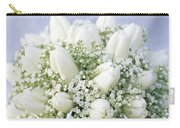 Tulip Tulipa Sp And Babys Breath Carry-all Pouch
