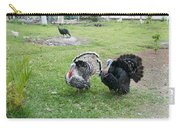 Turkeys In The Yard At Laguna Guerrero Carry-all Pouch